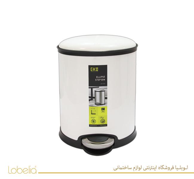 سطل پدالی الیپس 20 لیتری مدل 9325 سفید