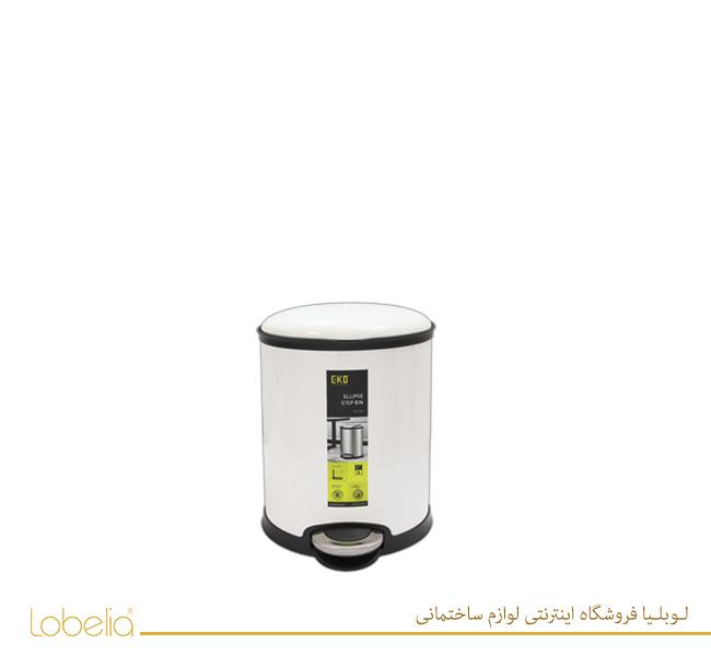 سطل پدالی الیپس 6 لیتری مدل 9325 سفید