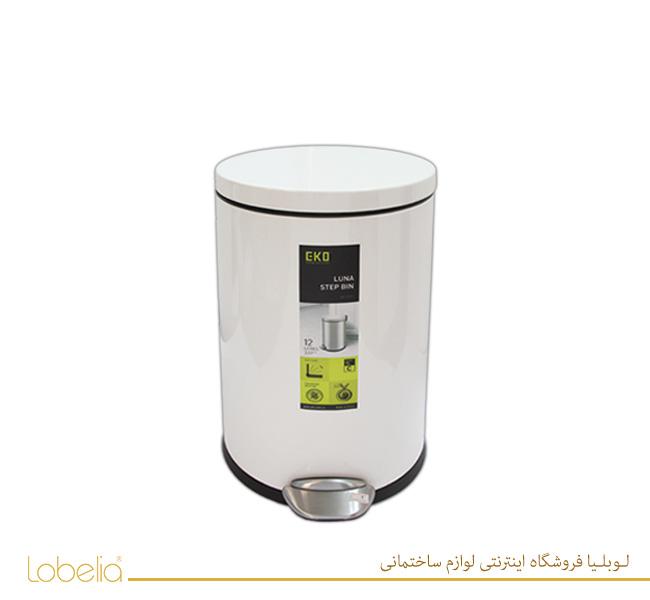 سطل پدالی لونا 20 لیتری مدل 9219 سفید