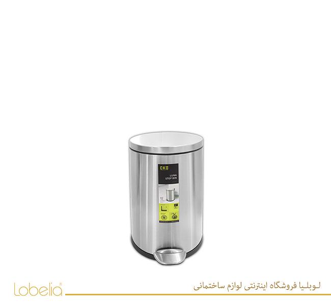 سطل-پدالی-لونا-3-لیتری-مدل-9219-استیل-مات