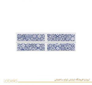 سرامیک نیلو دکور قالبدار آبی nilo-relief-blue-decor-20x60