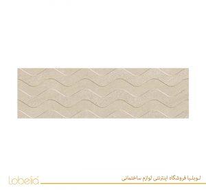 سرامیک جیکوب قالبدار بژ jacob relief beige 33x100