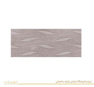کاشی گلوری دکور قالبدار طوسی تیره glory-relief-dark-gray-decor--30x60