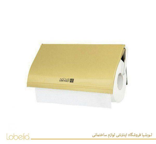 جا دستمال توالت رول بزرگ طلایی کنتراست مدل 088LTG