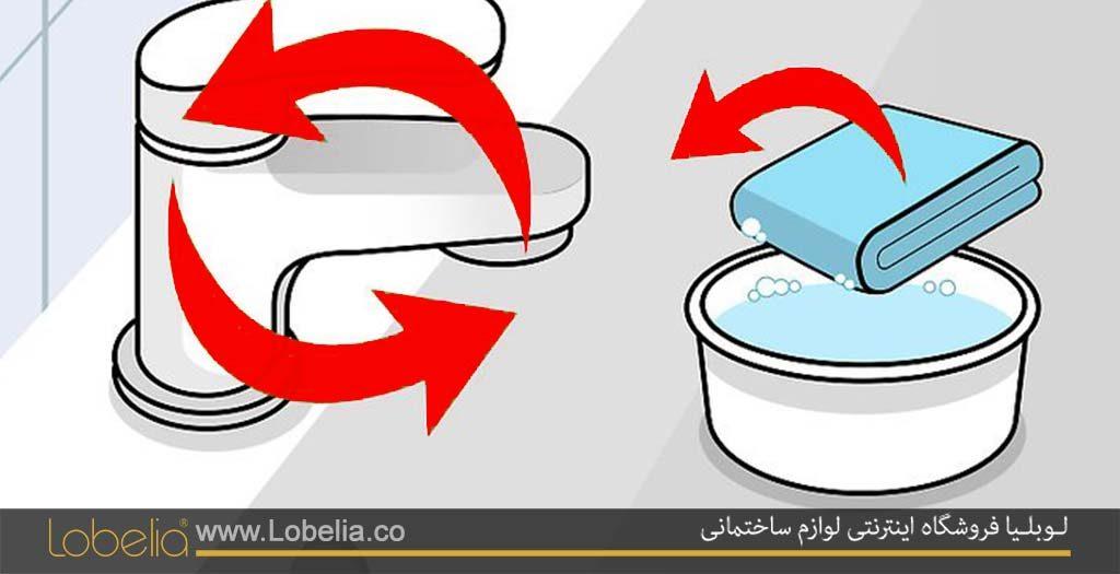 تمیز کردن شیرآلات ساختمانی