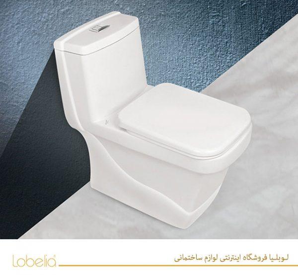 توالت فرنگی مروارید مدل کرون