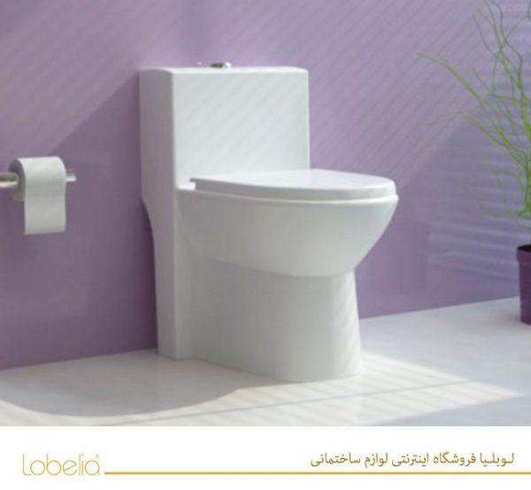 قیمت توالت فرنگی گلسار مدل لوسیا ایرانی