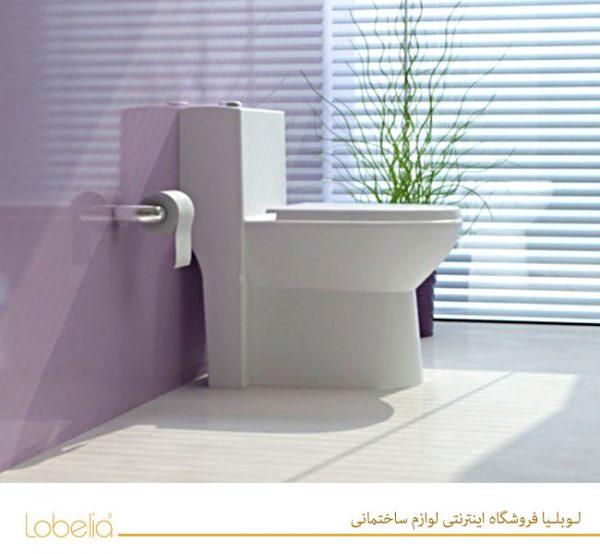توالت فرنگی لوسیا خرید برند گلساز