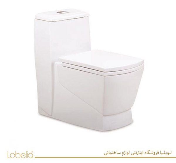 توالت فرنگی مروارید مدل مگا Mega